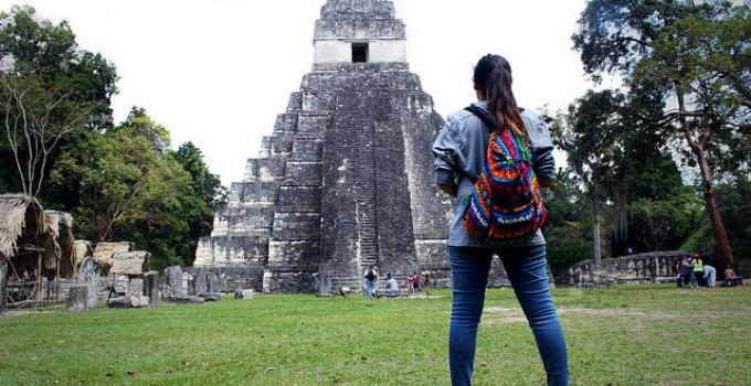 student studying abroad in guatamala